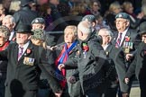 March Past, Remembrance Sunday at the Cenotaph 2016: D11 SSAFA. Cenotaph, Whitehall, London SW1, London, Greater London, United Kingdom, on 13 November 2016 at 13:00, image #1383