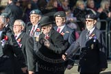 March Past, Remembrance Sunday at the Cenotaph 2016: D11 SSAFA. Cenotaph, Whitehall, London SW1, London, Greater London, United Kingdom, on 13 November 2016 at 13:00, image #1385