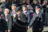March Past, Remembrance Sunday at the Cenotaph 2016: D11 SSAFA. Cenotaph, Whitehall, London SW1, London, Greater London, United Kingdom, on 13 November 2016 at 13:00, image #1386