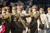 March Past, Remembrance Sunday at the Cenotaph 2016: D13 Association of Jewish Ex-Servicemen & Women. Cenotaph, Whitehall, London SW1, London, Greater London, United Kingdom, on 13 November 2016 at 13:00, image #1400