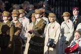 March Past, Remembrance Sunday at the Cenotaph 2016: D13 Association of Jewish Ex-Servicemen & Women. Cenotaph, Whitehall, London SW1, London, Greater London, United Kingdom, on 13 November 2016 at 13:00, image #1401