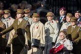 March Past, Remembrance Sunday at the Cenotaph 2016: D13 Association of Jewish Ex-Servicemen & Women. Cenotaph, Whitehall, London SW1, London, Greater London, United Kingdom, on 13 November 2016 at 13:00, image #1402