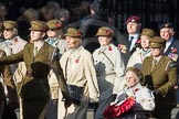 March Past, Remembrance Sunday at the Cenotaph 2016: D13 Association of Jewish Ex-Servicemen & Women. Cenotaph, Whitehall, London SW1, London, Greater London, United Kingdom, on 13 November 2016 at 13:00, image #1403