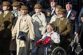 March Past, Remembrance Sunday at the Cenotaph 2016: D13 Association of Jewish Ex-Servicemen & Women. Cenotaph, Whitehall, London SW1, London, Greater London, United Kingdom, on 13 November 2016 at 13:00, image #1404