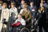 March Past, Remembrance Sunday at the Cenotaph 2016: D13 Association of Jewish Ex-Servicemen & Women. Cenotaph, Whitehall, London SW1, London, Greater London, United Kingdom, on 13 November 2016 at 13:01, image #1406
