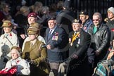 March Past, Remembrance Sunday at the Cenotaph 2016: D13 Association of Jewish Ex-Servicemen & Women. Cenotaph, Whitehall, London SW1, London, Greater London, United Kingdom, on 13 November 2016 at 13:01, image #1408