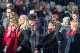 March Past, Remembrance Sunday at the Cenotaph 2016: D16 RAF WIDOWS ASSOCIATION. Cenotaph, Whitehall, London SW1, London, Greater London, United Kingdom, on 13 November 2016 at 13:01, image #1443