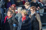 March Past, Remembrance Sunday at the Cenotaph 2016: D16 RAF WIDOWS ASSOCIATION. Cenotaph, Whitehall, London SW1, London, Greater London, United Kingdom, on 13 November 2016 at 13:01, image #1446