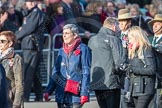 March Past, Remembrance Sunday at the Cenotaph 2016: D17 Royal Navy and Royal Marines Widows Association. Cenotaph, Whitehall, London SW1, London, Greater London, United Kingdom, on 13 November 2016 at 13:01, image #1448