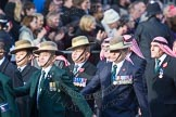 March Past, Remembrance Sunday at the Cenotaph 2016: D19 Trucial Oman Scouts Association. Cenotaph, Whitehall, London SW1, London, Greater London, United Kingdom, on 13 November 2016 at 13:01, image #1457