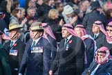 March Past, Remembrance Sunday at the Cenotaph 2016: D19 Trucial Oman Scouts Association. Cenotaph, Whitehall, London SW1, London, Greater London, United Kingdom, on 13 November 2016 at 13:01, image #1459