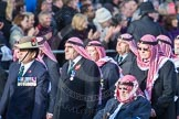 March Past, Remembrance Sunday at the Cenotaph 2016: D19 Trucial Oman Scouts Association. Cenotaph, Whitehall, London SW1, London, Greater London, United Kingdom, on 13 November 2016 at 13:01, image #1460