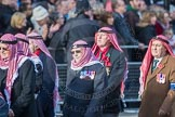 March Past, Remembrance Sunday at the Cenotaph 2016: D19 Trucial Oman Scouts Association. Cenotaph, Whitehall, London SW1, London, Greater London, United Kingdom, on 13 November 2016 at 13:01, image #1463