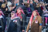 March Past, Remembrance Sunday at the Cenotaph 2016: D19 Trucial Oman Scouts Association. Cenotaph, Whitehall, London SW1, London, Greater London, United Kingdom, on 13 November 2016 at 13:01, image #1464