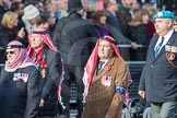 March Past, Remembrance Sunday at the Cenotaph 2016: D19 Trucial Oman Scouts Association. Cenotaph, Whitehall, London SW1, London, Greater London, United Kingdom, on 13 November 2016 at 13:01, image #1465