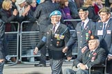 March Past, Remembrance Sunday at the Cenotaph 2016: D20 Bond Van Wapenbroeders 21 D21 Canadian Veterans Association. Cenotaph, Whitehall, London SW1, London, Greater London, United Kingdom, on 13 November 2016 at 13:01, image #1468