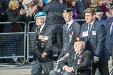 March Past, Remembrance Sunday at the Cenotaph 2016: D20 Bond Van Wapenbroeders 21 D21 Canadian Veterans Association. Cenotaph, Whitehall, London SW1, London, Greater London, United Kingdom, on 13 November 2016 at 13:01, image #1469