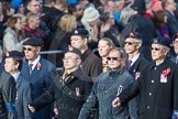 March Past, Remembrance Sunday at the Cenotaph 2016: D22 Hong Kong Ex-Servicemen's Association (HKESA UK Branch). Cenotaph, Whitehall, London SW1, London, Greater London, United Kingdom, on 13 November 2016 at 13:02, image #1486