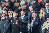 March Past, Remembrance Sunday at the Cenotaph 2016: D22 Hong Kong Ex-Servicemen's Association (HKESA UK Branch). Cenotaph, Whitehall, London SW1, London, Greater London, United Kingdom, on 13 November 2016 at 13:02, image #1489