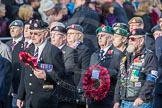 March Past, Remembrance Sunday at the Cenotaph 2016: D23 The Royal British Legion. Cenotaph, Whitehall, London SW1, London, Greater London, United Kingdom, on 13 November 2016 at 13:02, image #1499