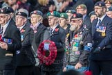 March Past, Remembrance Sunday at the Cenotaph 2016: D23 The Royal British Legion. Cenotaph, Whitehall, London SW1, London, Greater London, United Kingdom, on 13 November 2016 at 13:02, image #1501