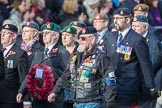 March Past, Remembrance Sunday at the Cenotaph 2016: D23 The Royal British Legion. Cenotaph, Whitehall, London SW1, London, Greater London, United Kingdom, on 13 November 2016 at 13:02, image #1502