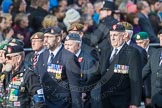 March Past, Remembrance Sunday at the Cenotaph 2016: D23 The Royal British Legion. Cenotaph, Whitehall, London SW1, London, Greater London, United Kingdom, on 13 November 2016 at 13:02, image #1504