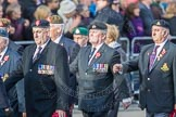 March Past, Remembrance Sunday at the Cenotaph 2016: D23 The Royal British Legion. Cenotaph, Whitehall, London SW1, London, Greater London, United Kingdom, on 13 November 2016 at 13:02, image #1506