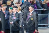 March Past, Remembrance Sunday at the Cenotaph 2016: D23 The Royal British Legion. Cenotaph, Whitehall, London SW1, London, Greater London, United Kingdom, on 13 November 2016 at 13:02, image #1507