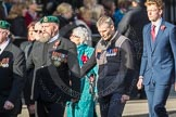 March Past, Remembrance Sunday at the Cenotaph 2016: D24 The Royal British Legion Scotland. Cenotaph, Whitehall, London SW1, London, Greater London, United Kingdom, on 13 November 2016 at 13:02, image #1522