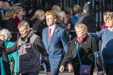 March Past, Remembrance Sunday at the Cenotaph 2016: D25 The Royal British Legion Poppy Factory. Cenotaph, Whitehall, London SW1, London, Greater London, United Kingdom, on 13 November 2016 at 13:02, image #1524