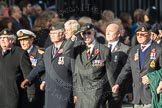 March Past, Remembrance Sunday at the Cenotaph 2016: D26 The Circuit of Service Lodges. Cenotaph, Whitehall, London SW1, London, Greater London, United Kingdom, on 13 November 2016 at 13:02, image #1530