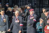March Past, Remembrance Sunday at the Cenotaph 2016: Polish Ex-Combatants Associationin Great Britain Trust Fund. Cenotaph, Whitehall, London SW1, London, Greater London, United Kingdom, on 13 November 2016 at 13:02, image #1562