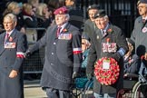 March Past, Remembrance Sunday at the Cenotaph 2016: Polish Ex-Combatants Associationin Great Britain Trust Fund. Cenotaph, Whitehall, London SW1, London, Greater London, United Kingdom, on 13 November 2016 at 13:02, image #1563