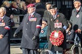 March Past, Remembrance Sunday at the Cenotaph 2016: Polish Ex-Combatants Associationin Great Britain Trust Fund. Cenotaph, Whitehall, London SW1, London, Greater London, United Kingdom, on 13 November 2016 at 13:03, image #1564