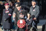March Past, Remembrance Sunday at the Cenotaph 2016: Polish Ex-Combatants Associationin Great Britain Trust Fund. Cenotaph, Whitehall, London SW1, London, Greater London, United Kingdom, on 13 November 2016 at 13:03, image #1565