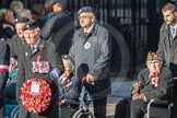 March Past, Remembrance Sunday at the Cenotaph 2016: Polish Ex-Combatants Associationin Great Britain Trust Fund. Cenotaph, Whitehall, London SW1, London, Greater London, United Kingdom, on 13 November 2016 at 13:03, image #1566