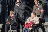 March Past, Remembrance Sunday at the Cenotaph 2016: Polish Ex-Combatants Associationin Great Britain Trust Fund. Cenotaph, Whitehall, London SW1, London, Greater London, United Kingdom, on 13 November 2016 at 13:03, image #1568