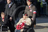 March Past, Remembrance Sunday at the Cenotaph 2016: Polish Ex-Combatants Associationin Great Britain Trust Fund. Cenotaph, Whitehall, London SW1, London, Greater London, United Kingdom, on 13 November 2016 at 13:03, image #1569