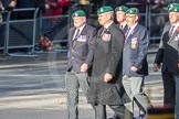 March Past, Remembrance Sunday at the Cenotaph 2016: E01 Royal Marines Association. Cenotaph, Whitehall, London SW1, London, Greater London, United Kingdom, on 13 November 2016 at 13:03, image #1570
