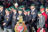 March Past, Remembrance Sunday at the Cenotaph 2016: E01 Royal Marines Association. Cenotaph, Whitehall, London SW1, London, Greater London, United Kingdom, on 13 November 2016 at 13:03, image #1577