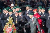 March Past, Remembrance Sunday at the Cenotaph 2016: E01 Royal Marines Association. Cenotaph, Whitehall, London SW1, London, Greater London, United Kingdom, on 13 November 2016 at 13:03, image #1578