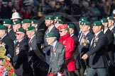 March Past, Remembrance Sunday at the Cenotaph 2016: E01 Royal Marines Association. Cenotaph, Whitehall, London SW1, London, Greater London, United Kingdom, on 13 November 2016 at 13:03, image #1579