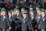 March Past, Remembrance Sunday at the Cenotaph 2016: E01 Royal Marines Association. Cenotaph, Whitehall, London SW1, London, Greater London, United Kingdom, on 13 November 2016 at 13:03, image #1581
