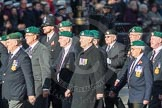 March Past, Remembrance Sunday at the Cenotaph 2016: E01 Royal Marines Association. Cenotaph, Whitehall, London SW1, London, Greater London, United Kingdom, on 13 November 2016 at 13:03, image #1584