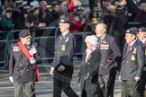 March Past, Remembrance Sunday at the Cenotaph 2016: E02 Royal Naval Association. Cenotaph, Whitehall, London SW1, London, Greater London, United Kingdom, on 13 November 2016 at 13:03, image #1590