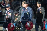 March Past, Remembrance Sunday at the Cenotaph 2016: E02 Royal Naval Association. Cenotaph, Whitehall, London SW1, London, Greater London, United Kingdom, on 13 November 2016 at 13:03, image #1624