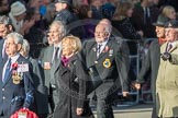 March Past, Remembrance Sunday at the Cenotaph 2016: E06 HMS Andromeda Association. Cenotaph, Whitehall, London SW1, London, Greater London, United Kingdom, on 13 November 2016 at 13:04, image #1670