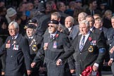 March Past, Remembrance Sunday at the Cenotaph 2016: E06 HMS Andromeda Association. Cenotaph, Whitehall, London SW1, London, Greater London, United Kingdom, on 13 November 2016 at 13:04, image #1676