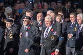March Past, Remembrance Sunday at the Cenotaph 2016: E06 HMS Andromeda Association. Cenotaph, Whitehall, London SW1, London, Greater London, United Kingdom, on 13 November 2016 at 13:04, image #1677